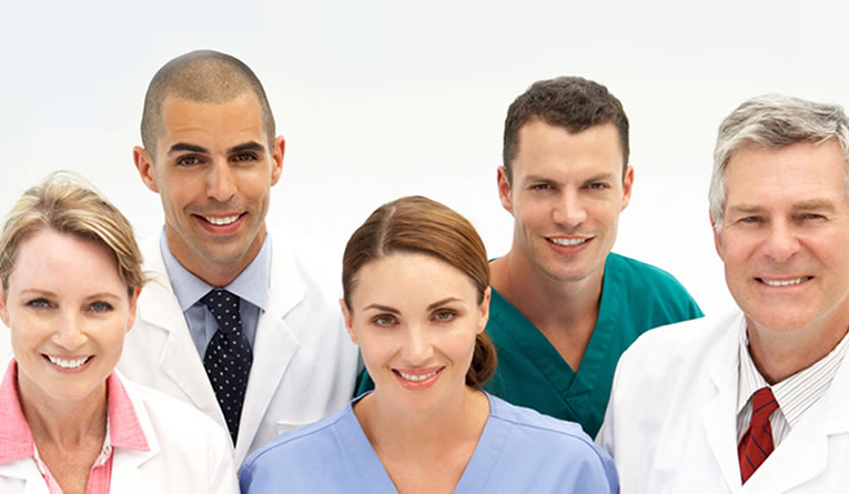 Diverse group of oral and facial surgeons